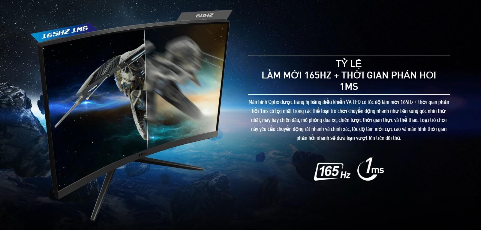 Màn Hình Cong MSI Optix - songphuong.vn