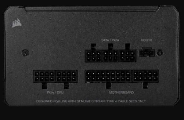 Nguồn Corsair CX550F RGB Black 80 Plus Bronze - Song Phương