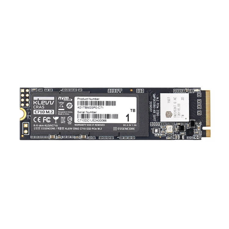 SSD Klevv CRAS C710 1TB M2 NVME Gen3x4 - K01TBM2SP0-C71 - songphuong.vn