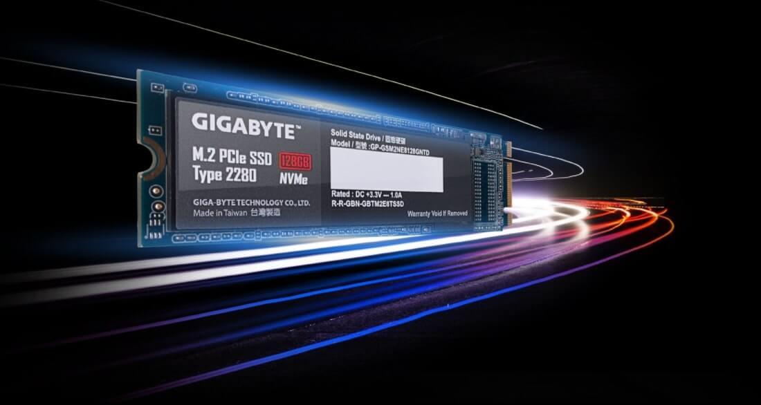 SSD Gigabyte 128GB M2 PCIe NVMe - GP-GSM2NE3-songphuong.vn