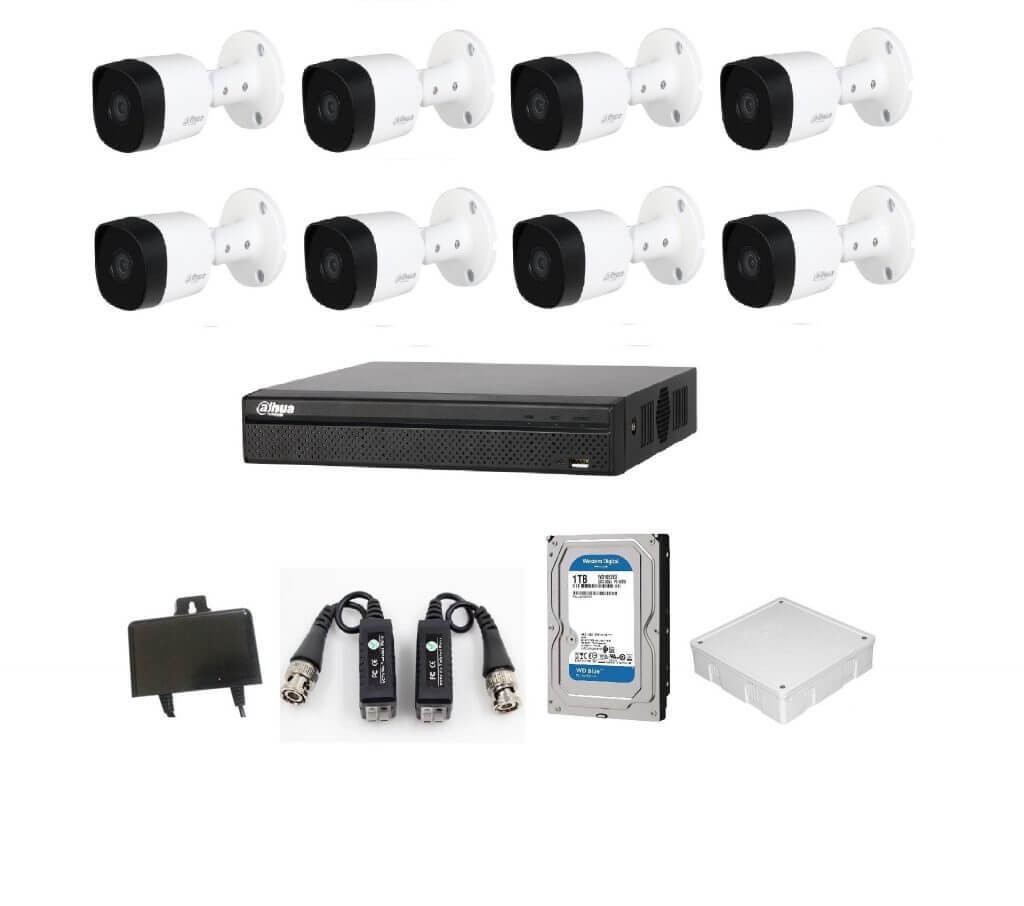 Trọn bộ 16 Camera HDCVI 2MP - songphuong.vn
