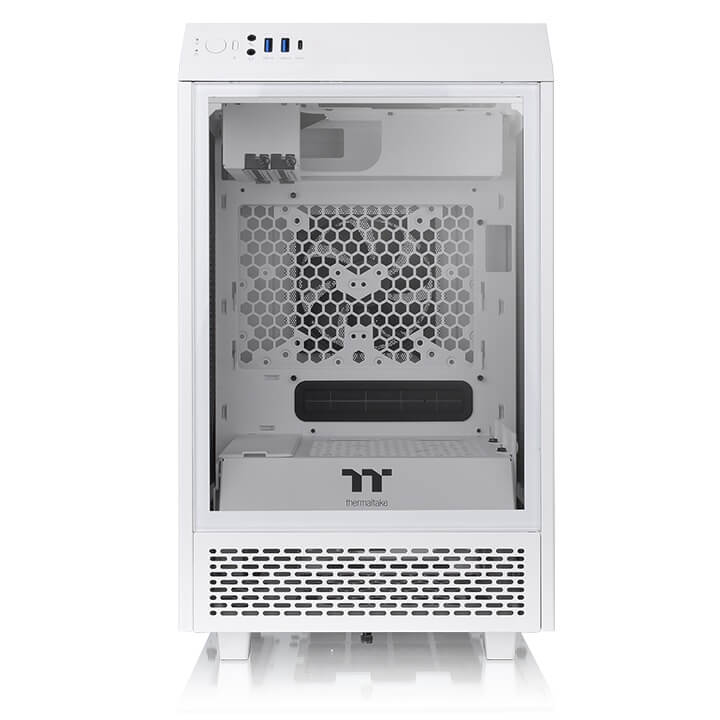 Case Thermaltake Tower 100 Snow Mini Chassis CA-1R3-00S6WN-00_songphuong.vn
