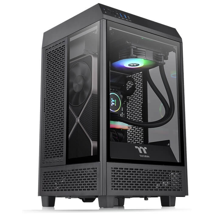 Case Thermaltake Tower 100 Mini Chassis CA-1R3-00S1WN-00 _songphuong.vn