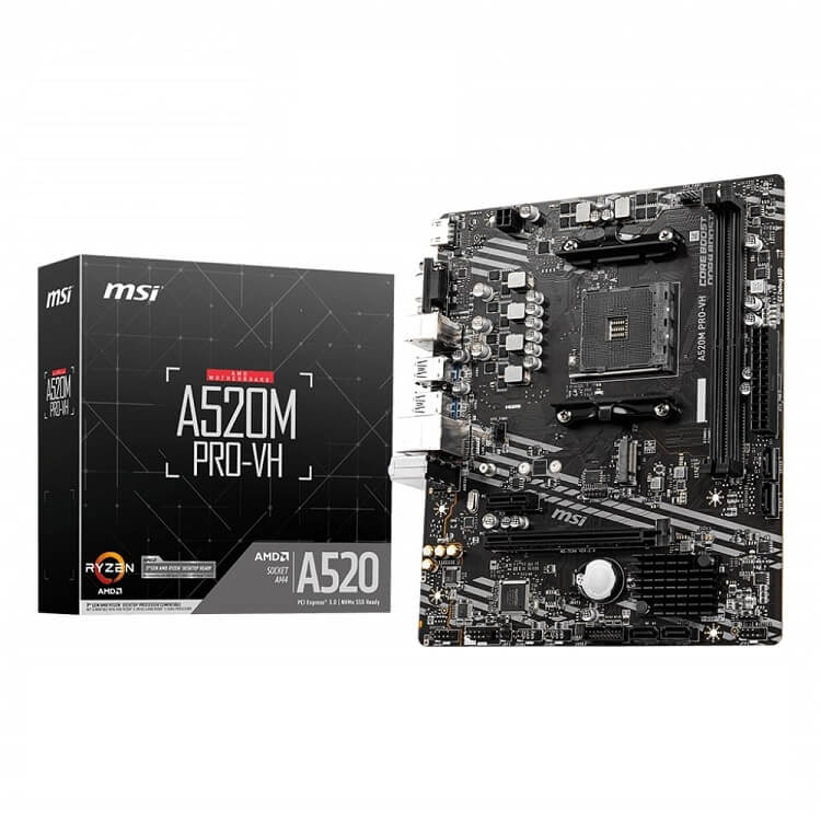 Mainboard MSI A520M PRO-VH - songphuong.vn
