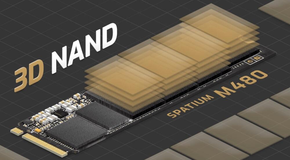 SSD MSI SPATIUM M480 1TB - songphuong.vn