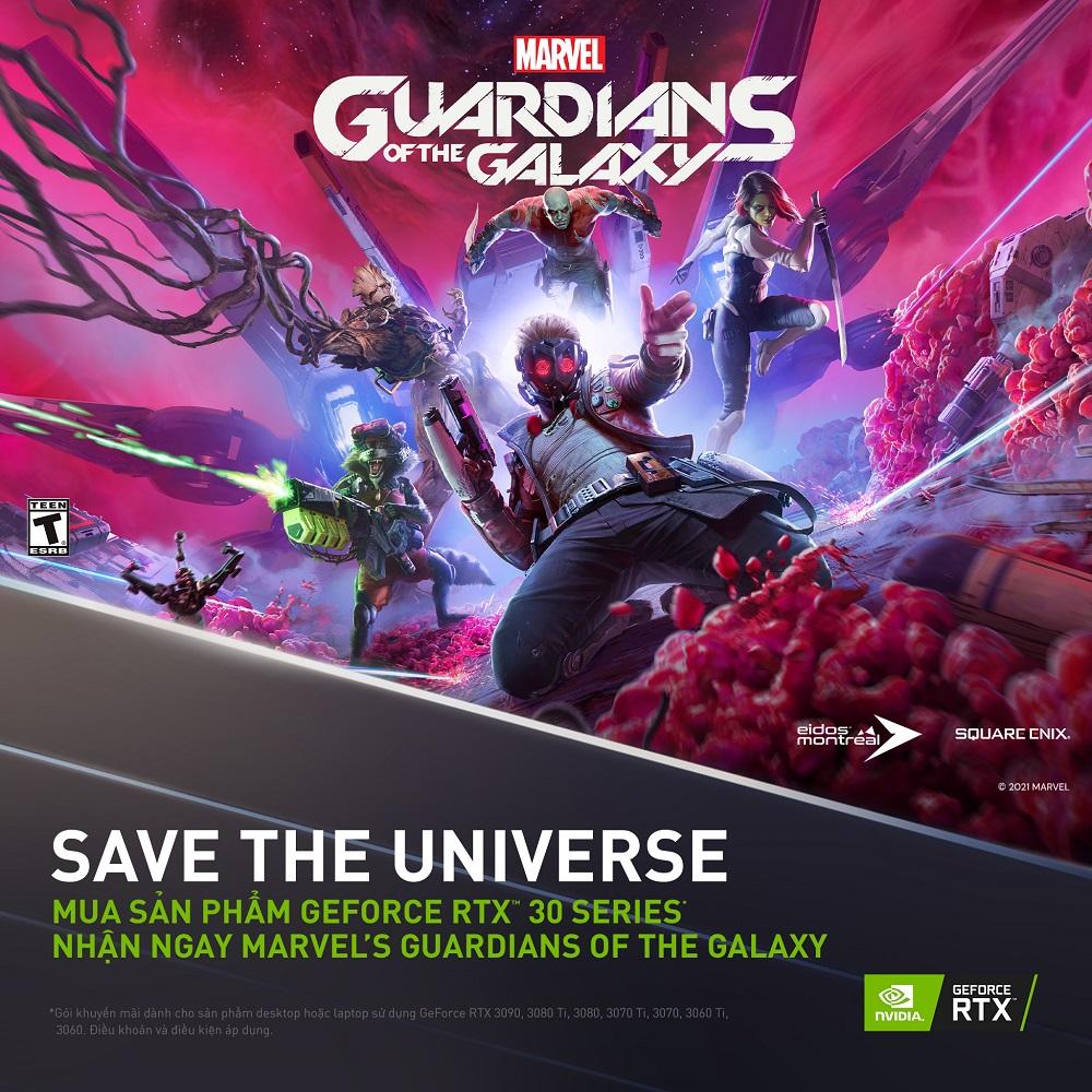 Chương trình khuyến mãi Marvel's Guardians of the Galaxy - songphuong.vn